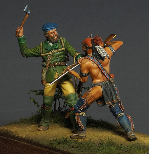 Dioramas and Vignettes: The Skirmish
