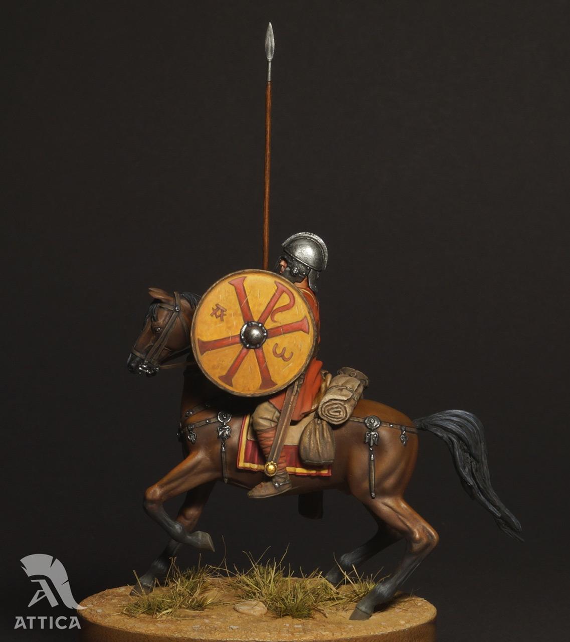 Figures: Roman cavalry, 4 AD, photo #10