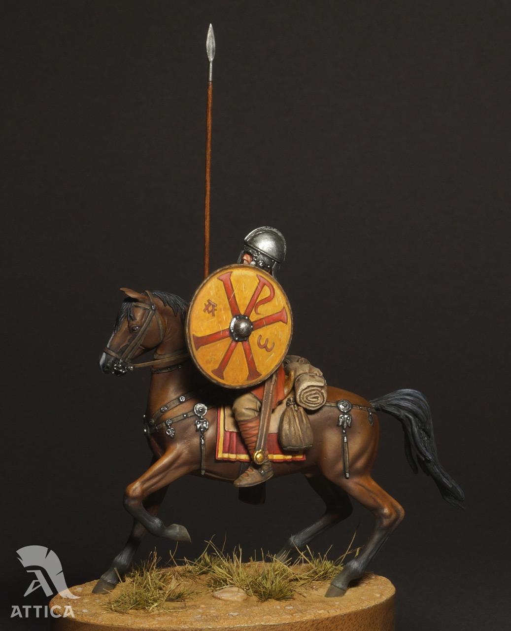 Figures: Roman cavalry, 4 AD, photo #11