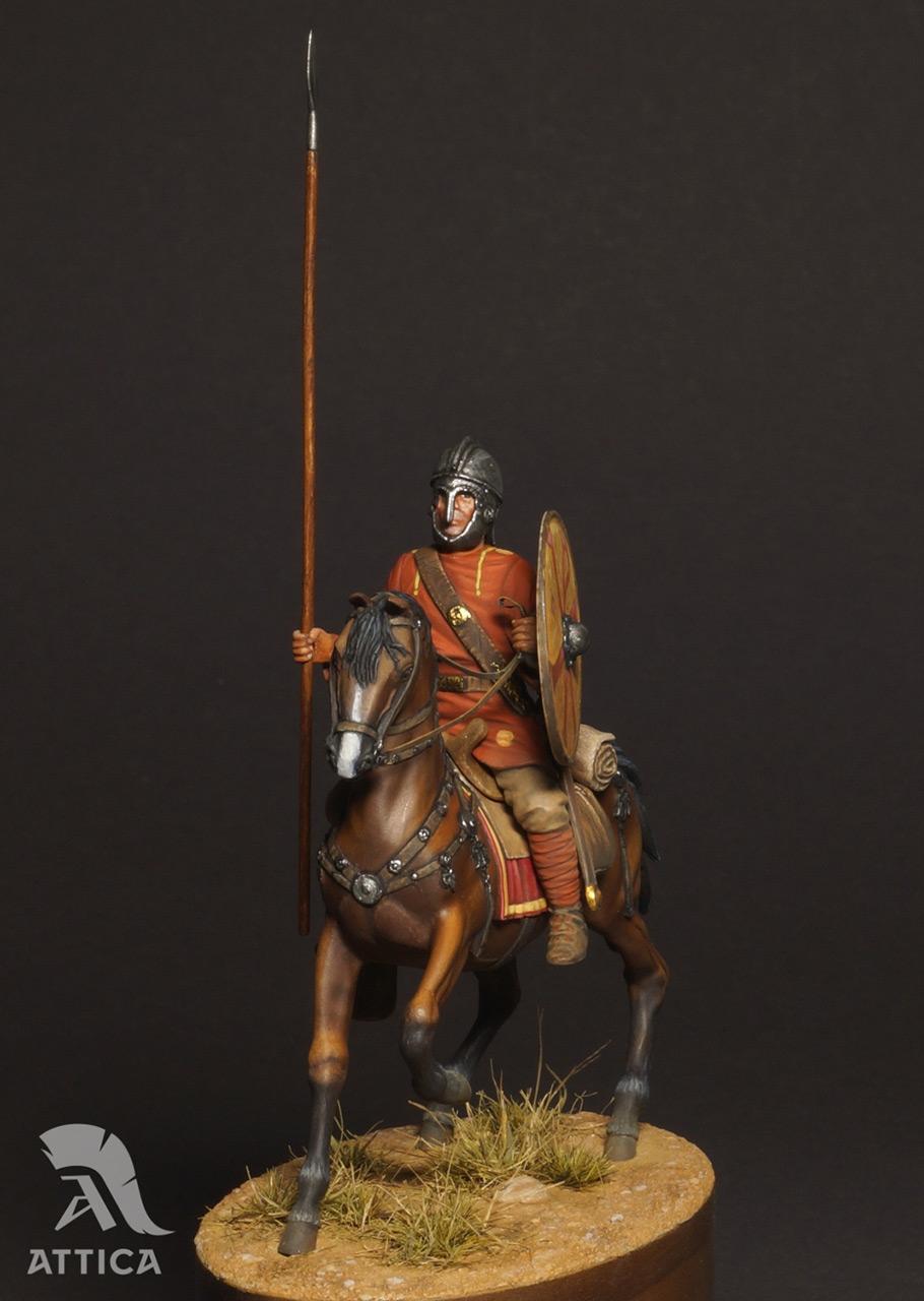 Figures: Roman cavalry, 4 AD, photo #2