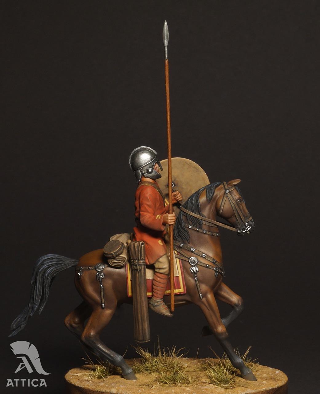 Figures: Roman cavalry, 4 AD, photo #5