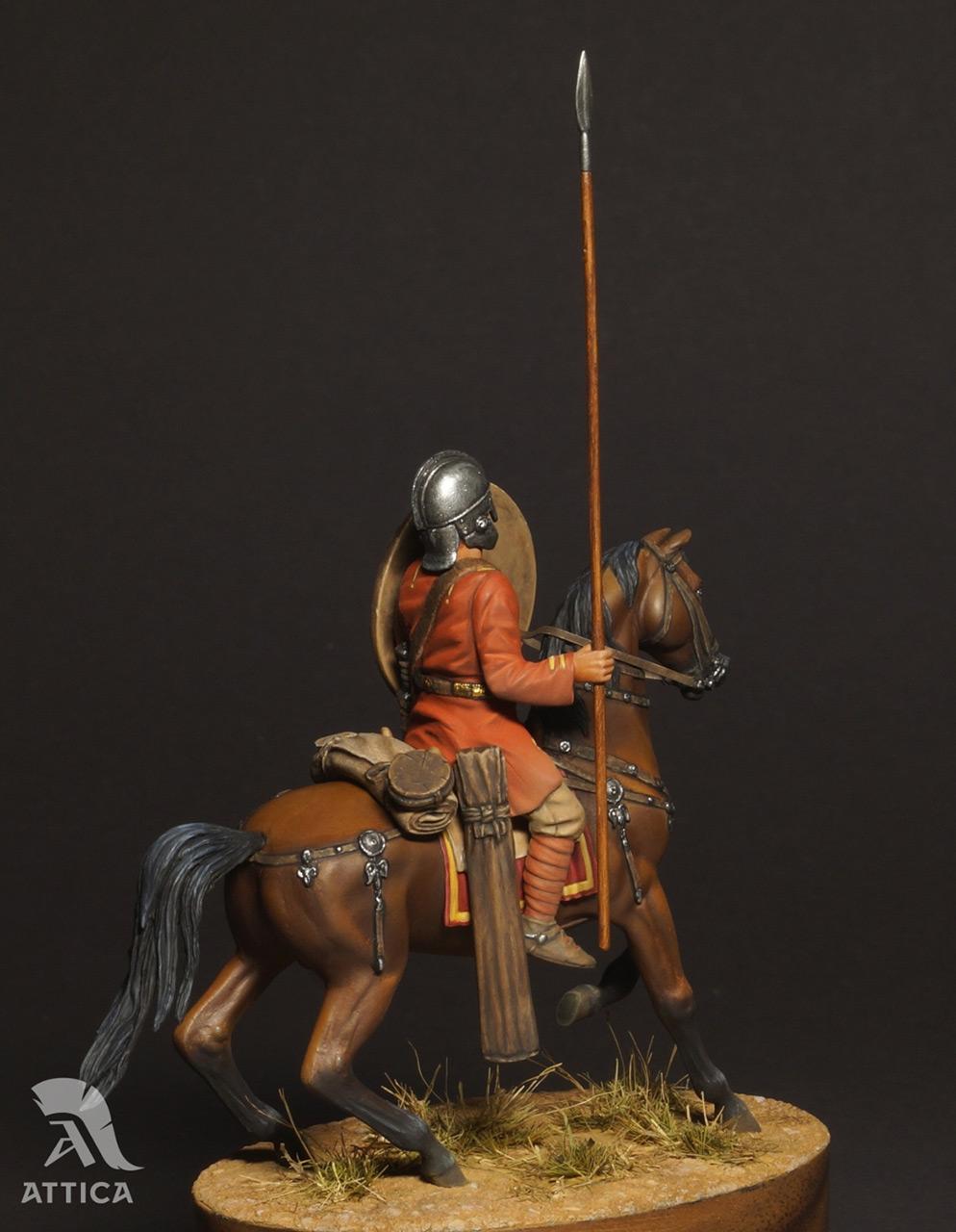 Figures: Roman cavalry, 4 AD, photo #6