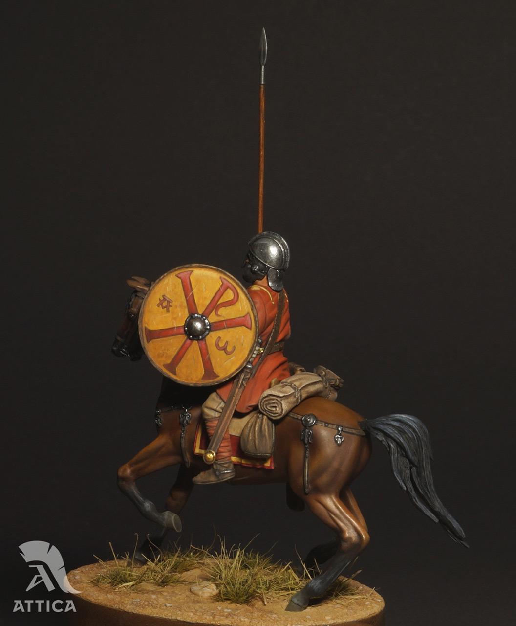 Figures: Roman cavalry, 4 AD, photo #9