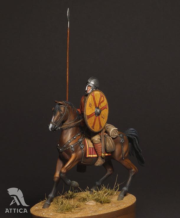 Figures: Roman cavalry, 4 AD