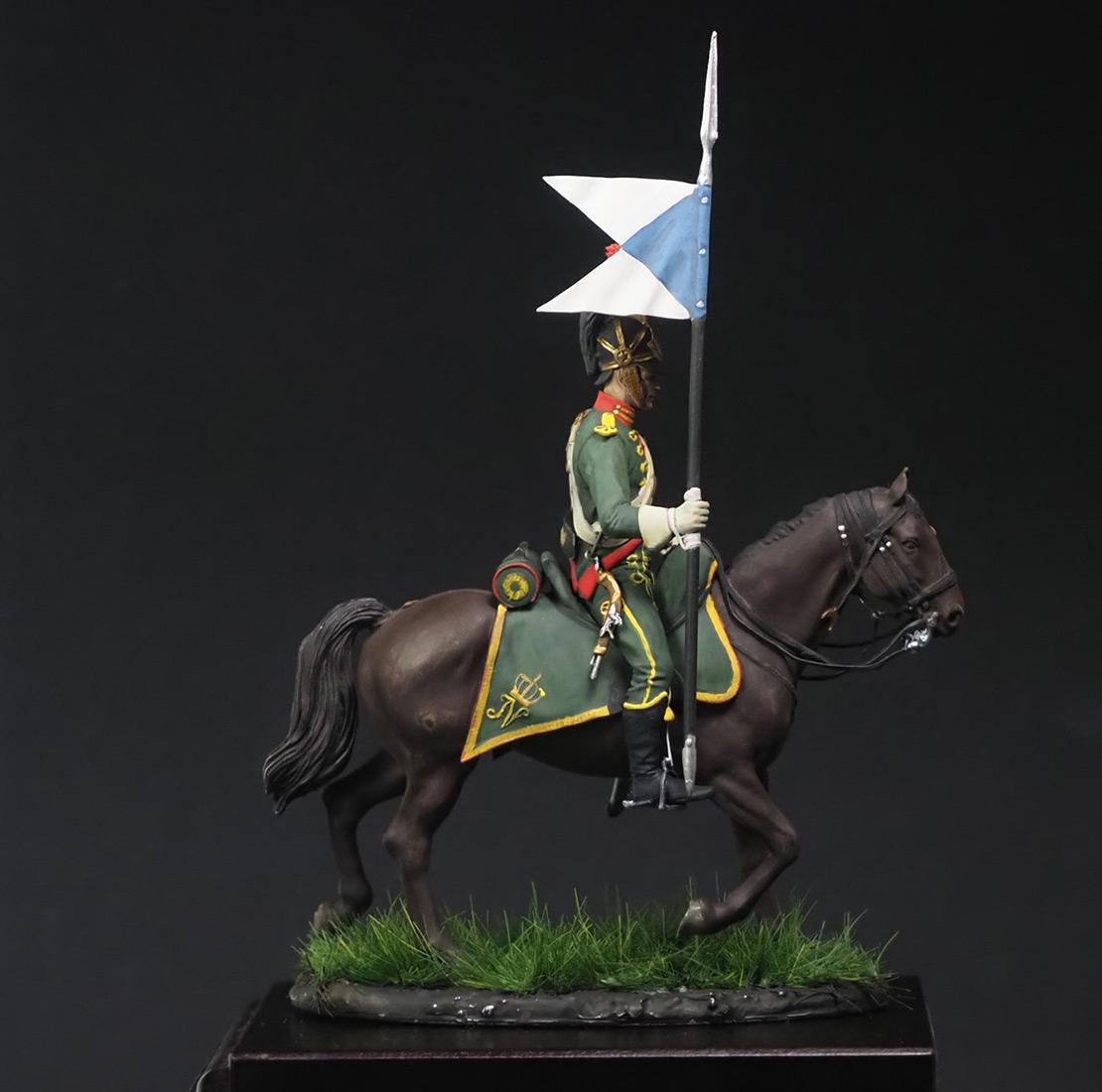 Figures: Westfalian mounted chevauxleger, photo #1