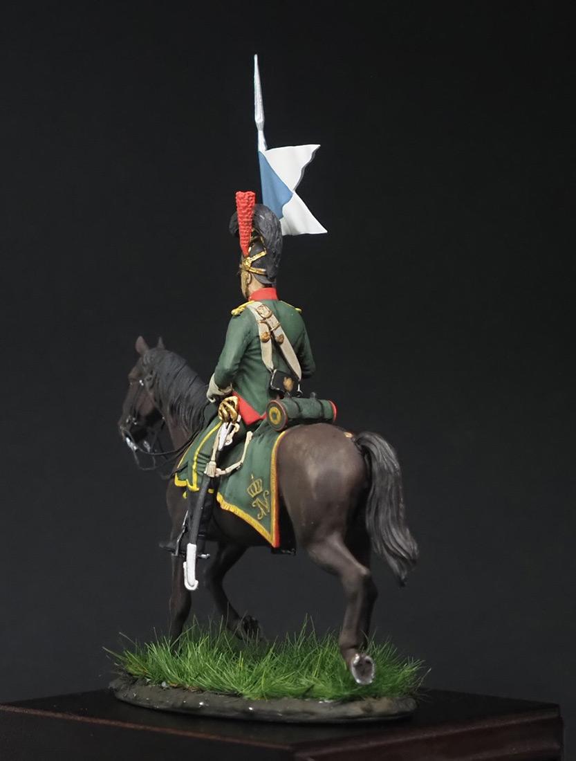 Figures: Westfalian mounted chevauxleger, photo #4