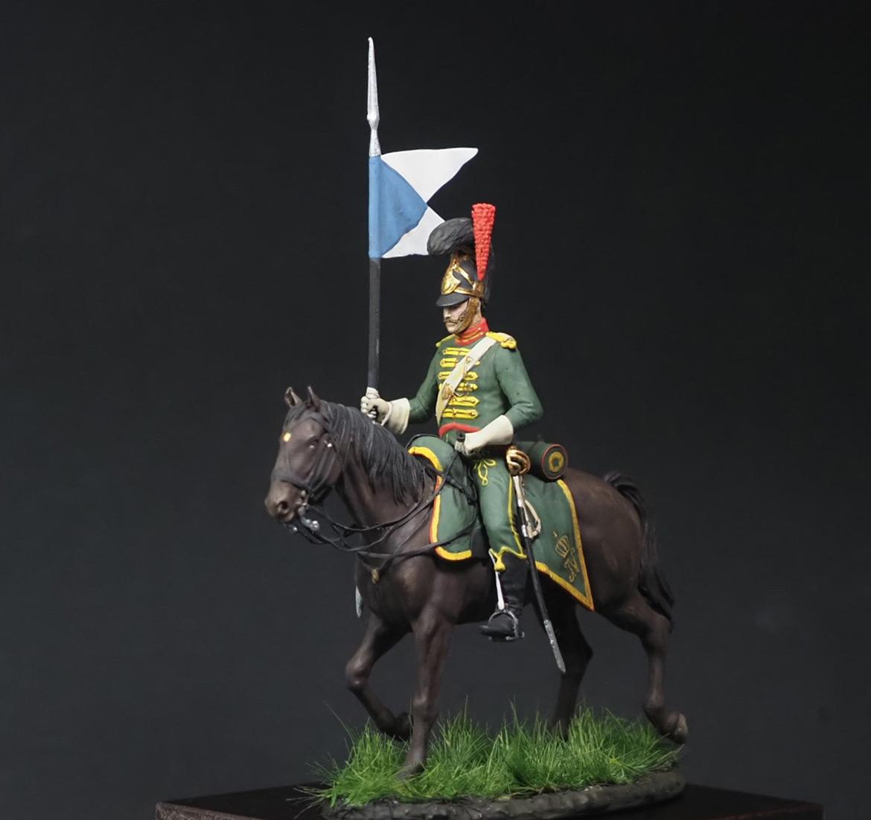 Figures: Westfalian mounted chevauxleger, photo #6