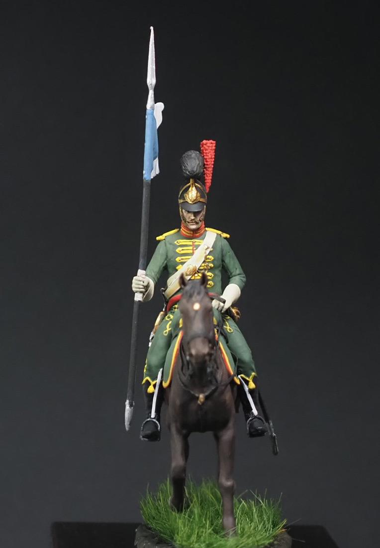 Figures: Westfalian mounted chevauxleger, photo #7