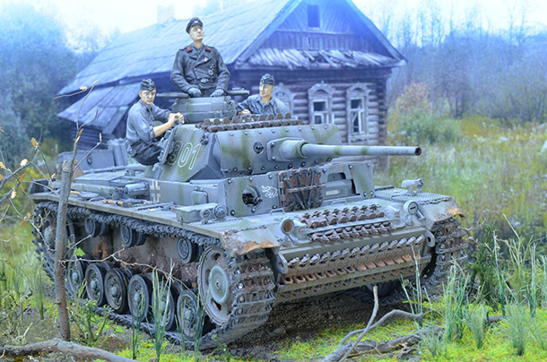 Dioramas and Vignettes: Panzer III Ausf. L