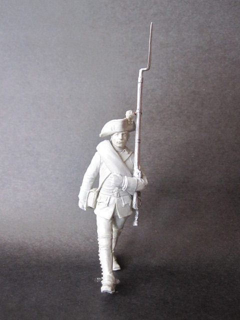 Sculpture: Musketeer, 1758, photo #1