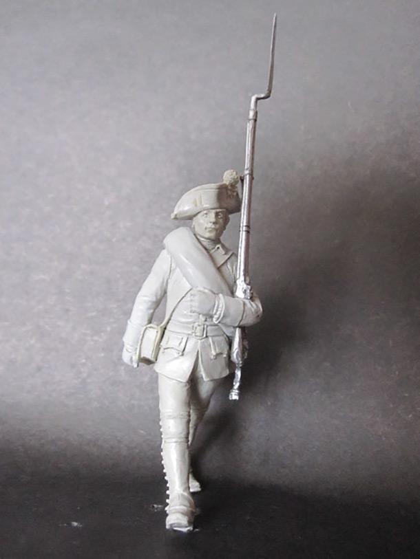 Sculpture: Musketeer, 1758