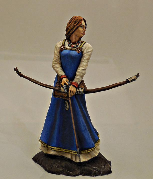 Figures: Scandinavian archer, 9-11 AD