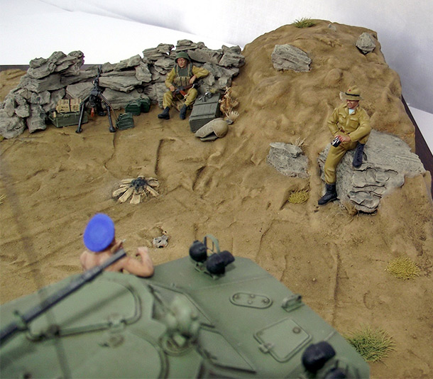 Dioramas and Vignettes: Demobilization is soon!