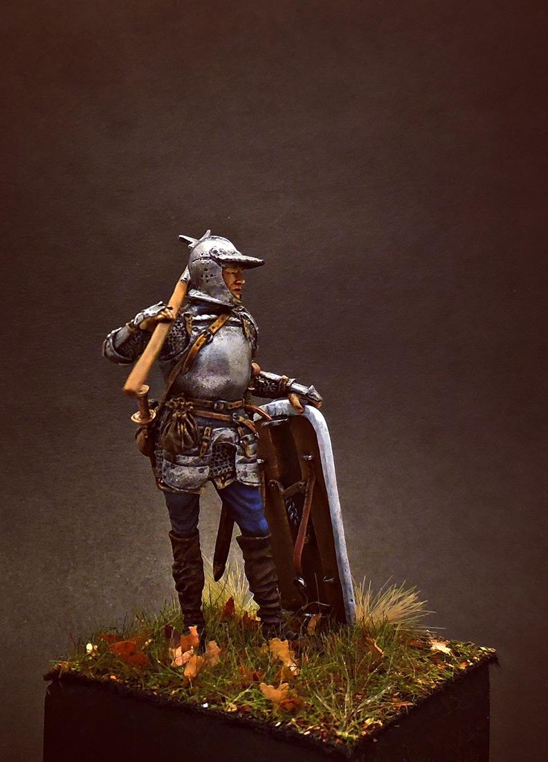Figures: European soldier with halberd, 1510-25, photo #4
