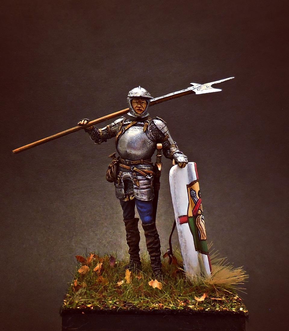 Figures: European soldier with halberd, 1510-25, photo #5