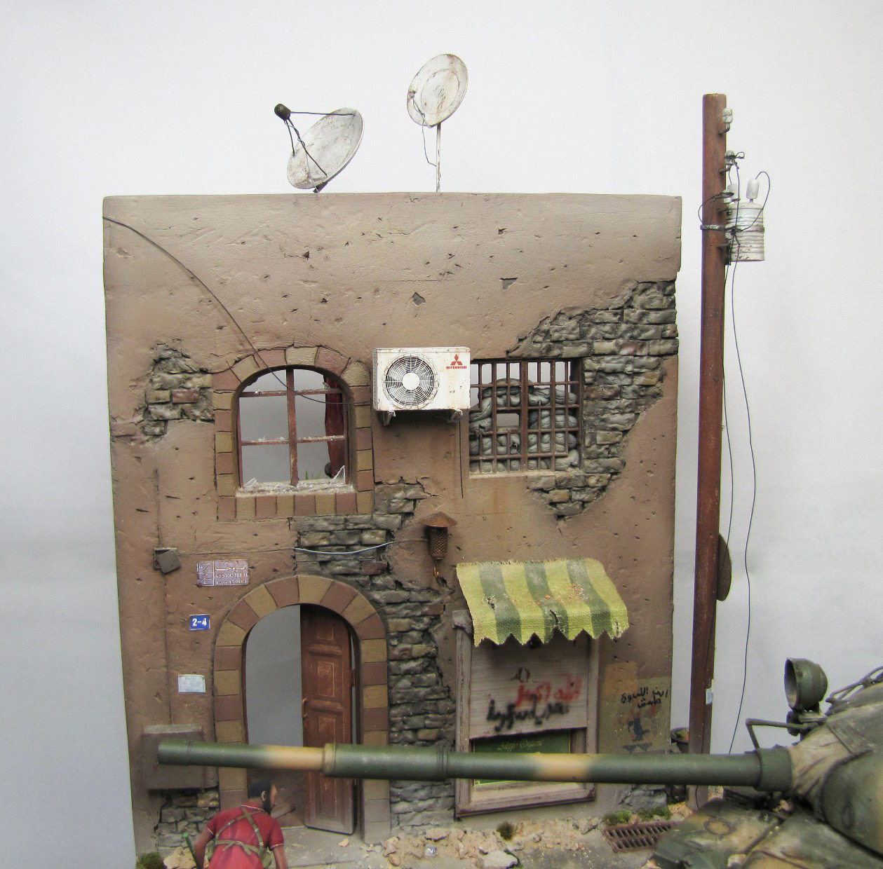 Dioramas and Vignettes: Aleppo in fire, photo #11