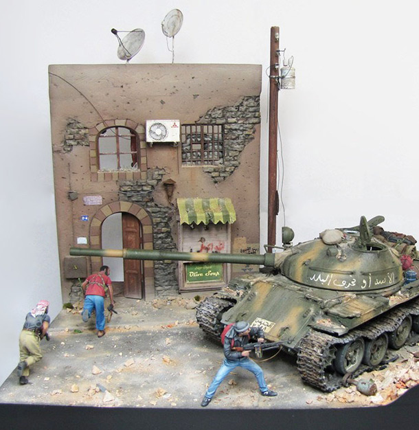 Dioramas and Vignettes: Aleppo in fire