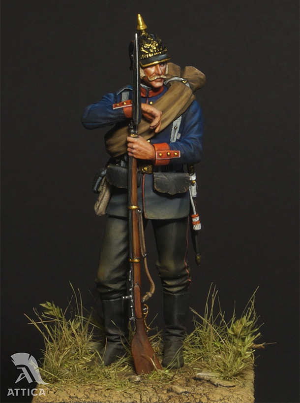 Figures: Prussian soldier