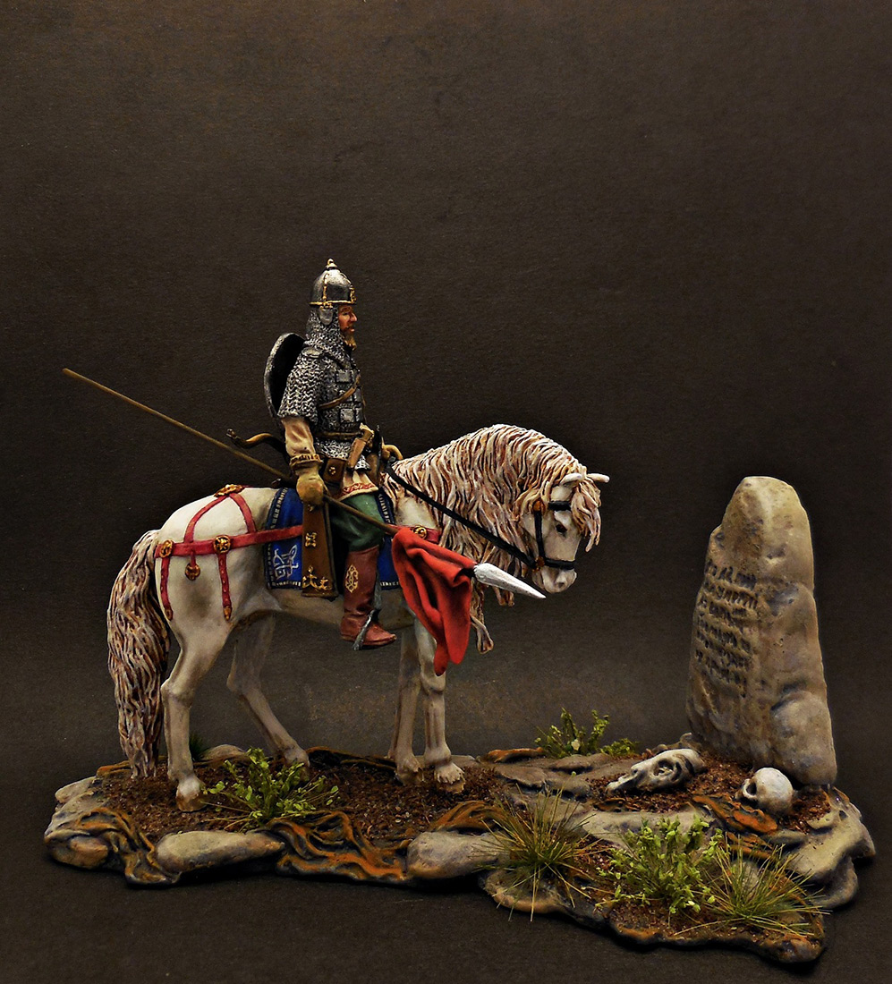 Dioramas and Vignettes: Warrior at the crossroad, photo #1