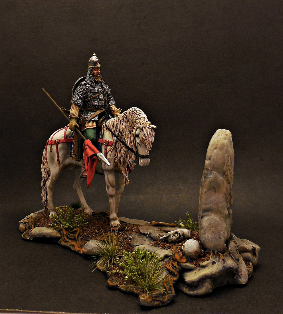 Dioramas and Vignettes: Warrior at the crossroad, photo #2