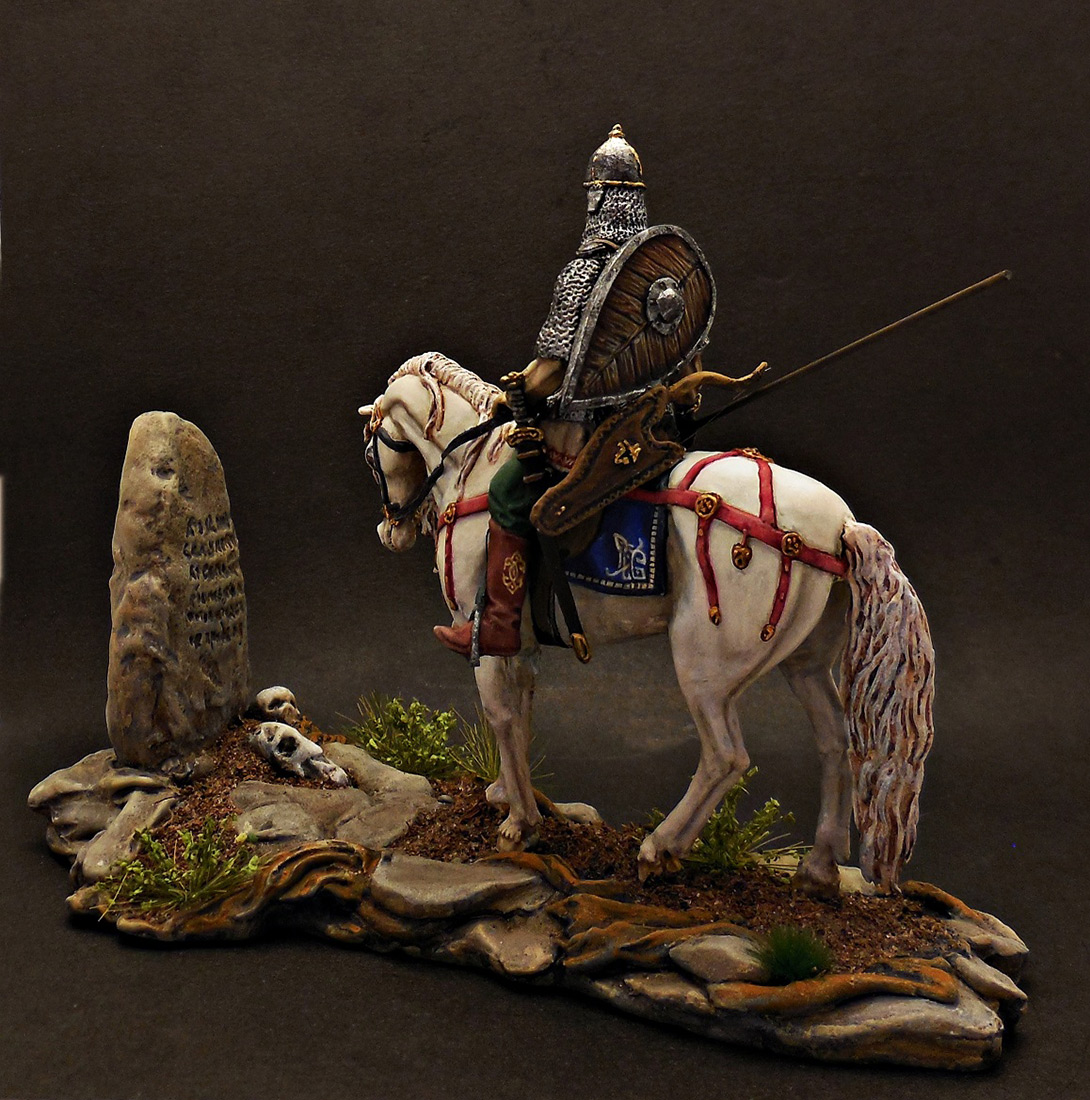 Dioramas and Vignettes: Warrior at the crossroad, photo #5