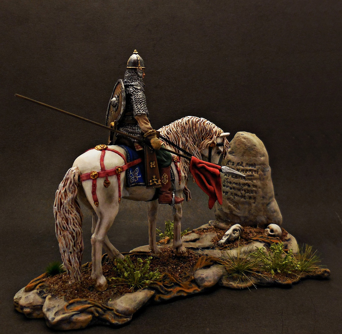 Dioramas and Vignettes: Warrior at the crossroad, photo #6
