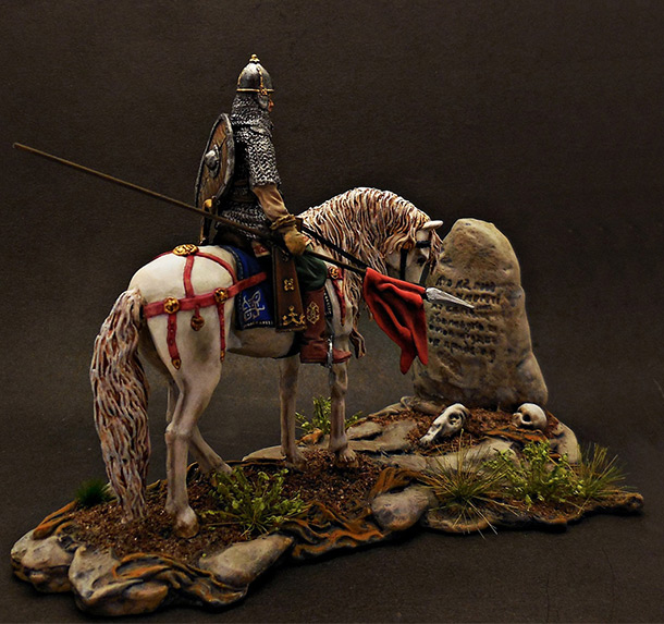 Dioramas and Vignettes: Warrior at the crossroad