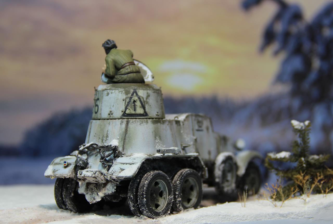 Dioramas and Vignettes: Reconnaissance in Schlisselburg, photo #1