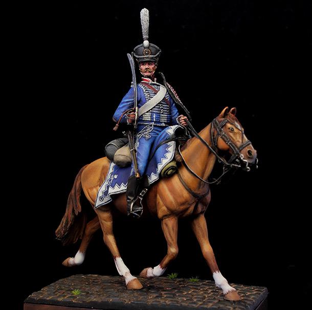 Figures: Hussar, Belorussian hussar regt., 1812