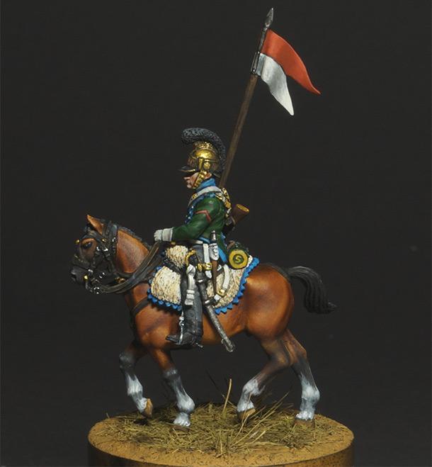 Figures: Private, 5th chevauxleger regt.