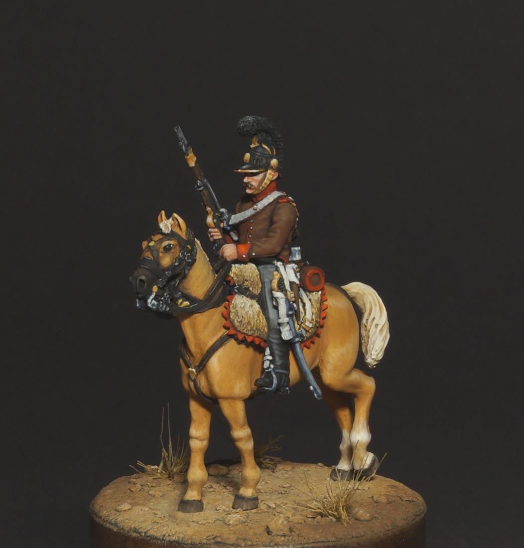 Figures: Chasseur, Portugal legion, 1808, photo #2