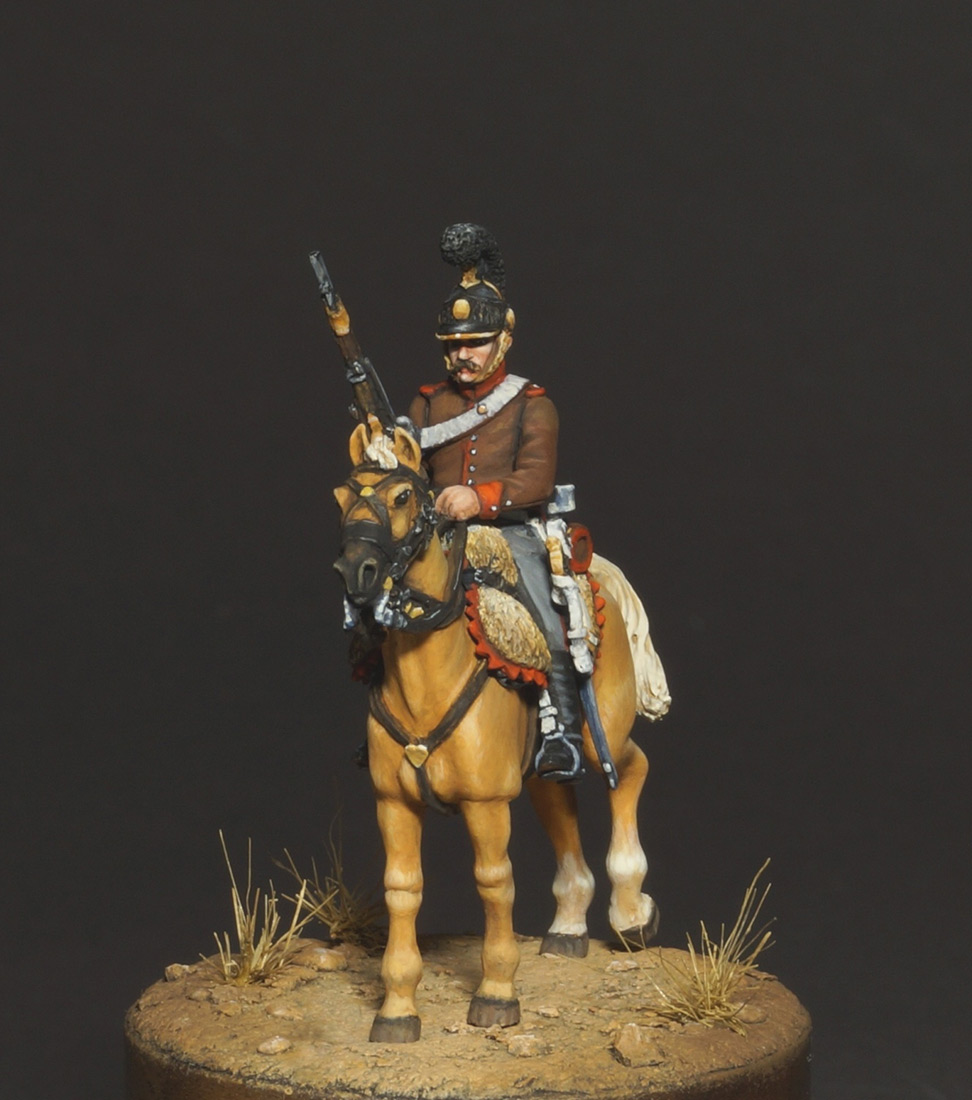 Figures: Chasseur, Portugal legion, 1808, photo #3