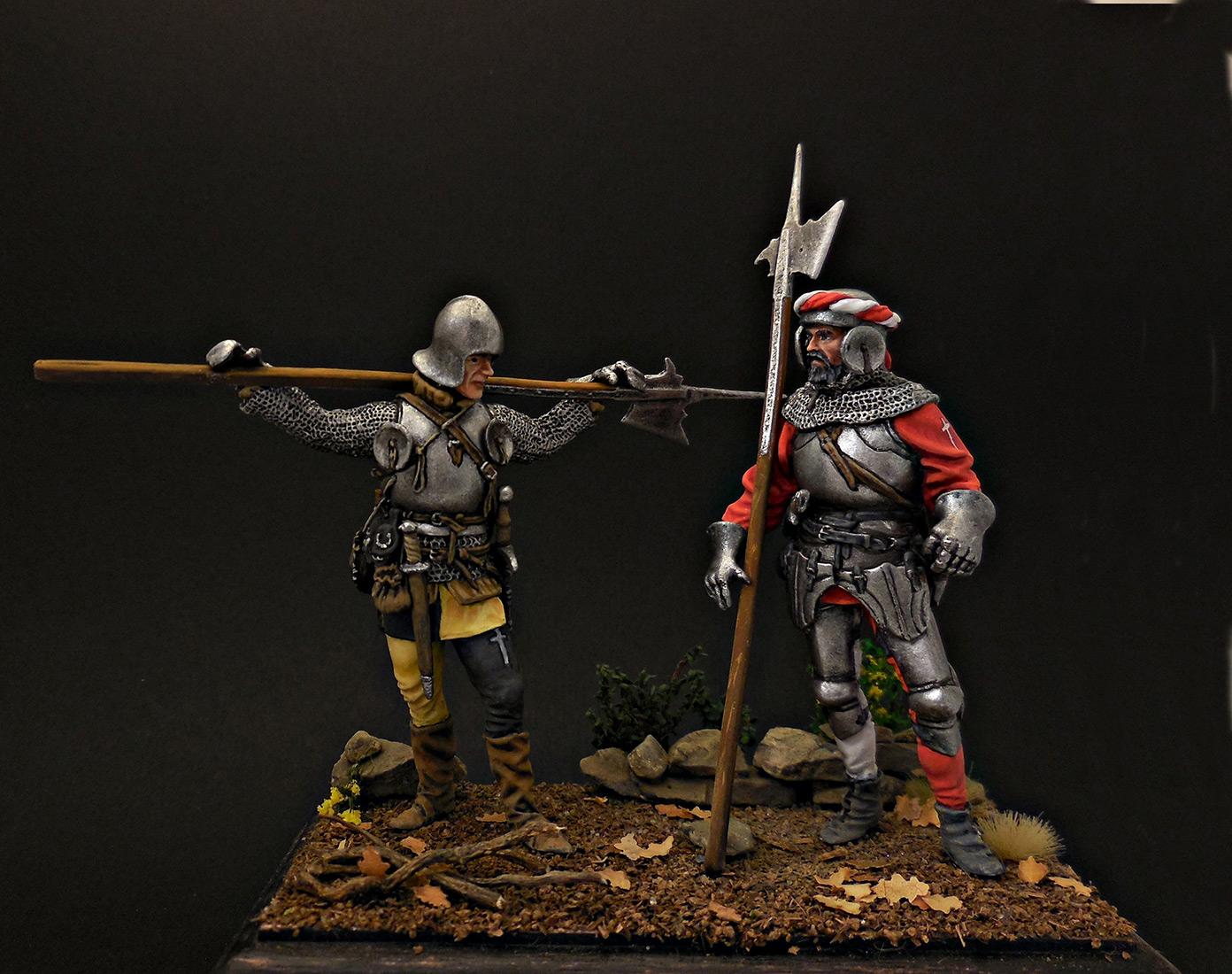 Figures: Swiss guards, photo #1