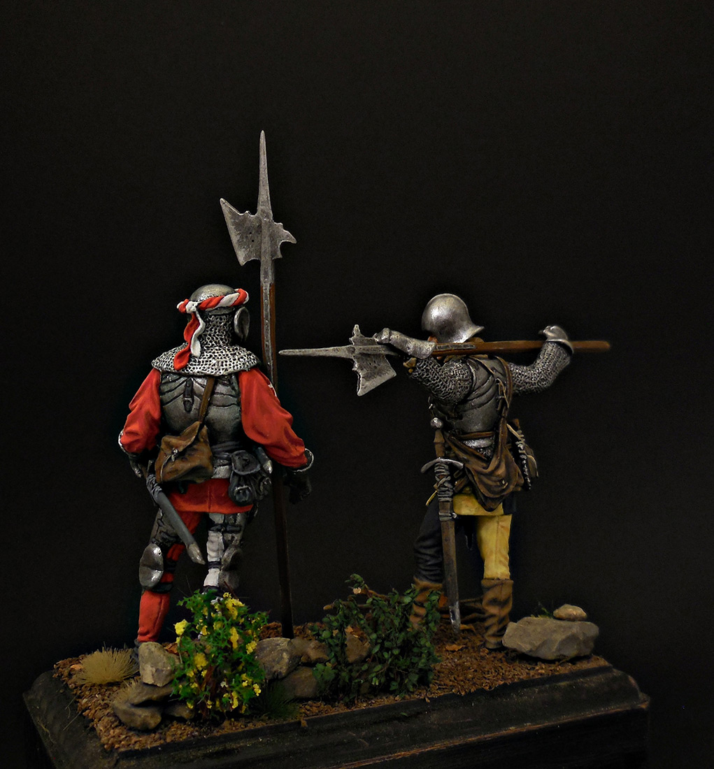 Figures: Swiss guards, photo #3