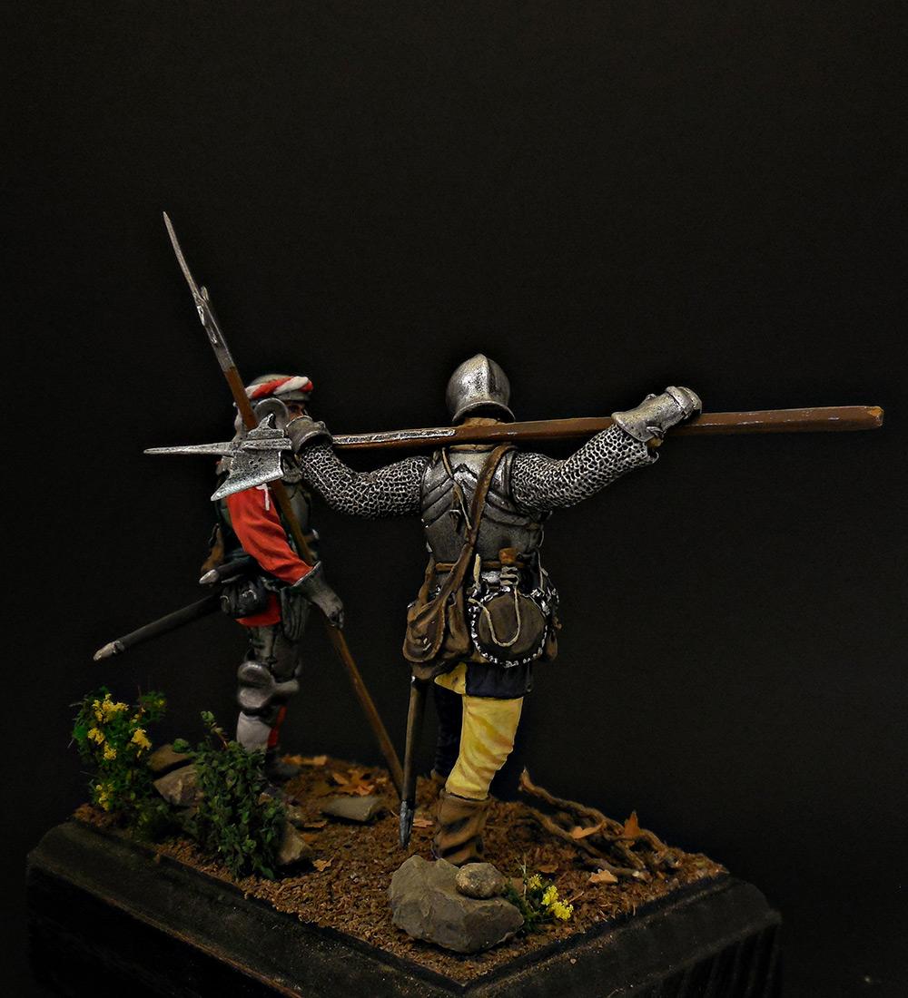 Figures: Swiss guards, photo #4