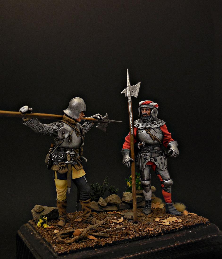 Figures: Swiss guards, photo #5