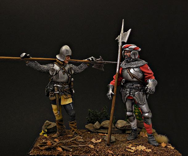 Figures: Swiss guards
