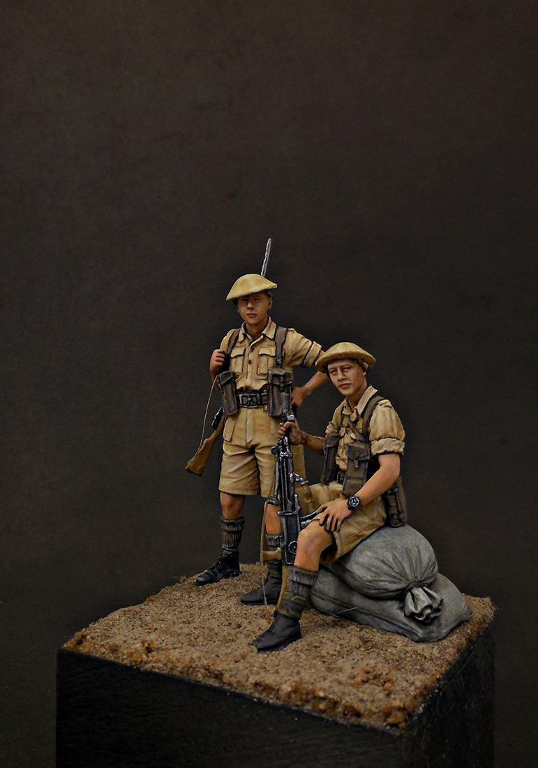 Figures: British Infantry, North Africa, 1941-43, photo #2