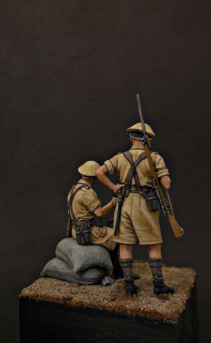 Figures: British Infantry, North Africa, 1941-43, photo #5