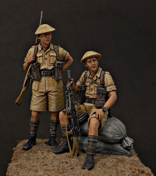 Figures: British Infantry, North Africa, 1941-43