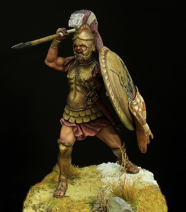 Figures: Greek hoplite, 5th BC