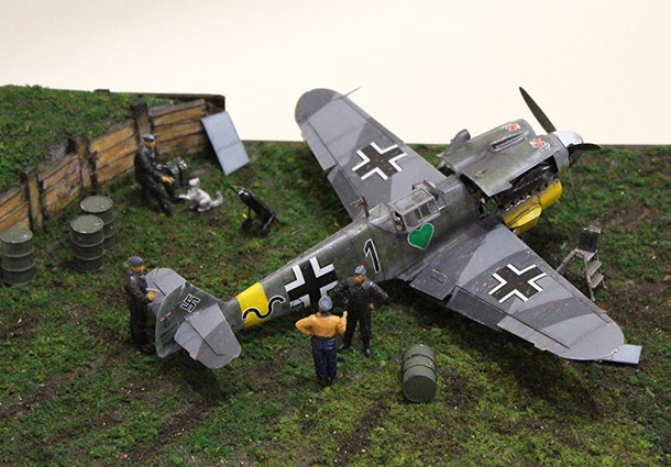 Dioramas and Vignettes: Maintenance of Bf.109F-4