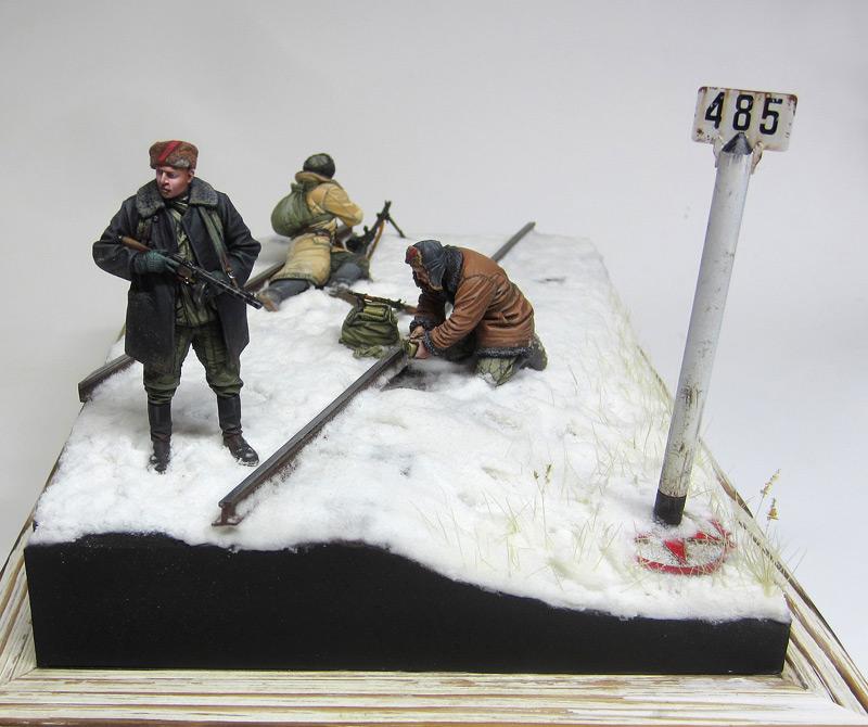 Dioramas and Vignettes: Partisan raid, photo #1