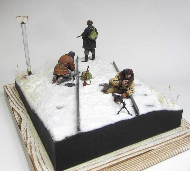 Dioramas and Vignettes: Partisan raid, photo #2