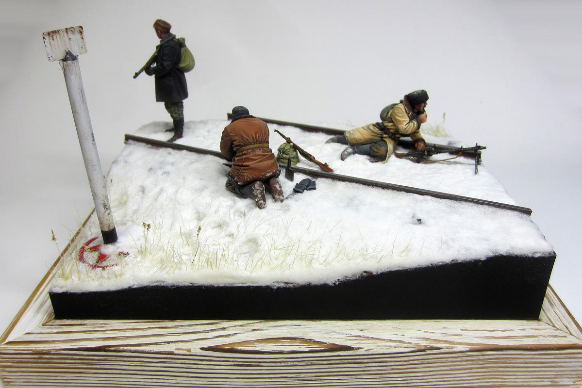 Dioramas and Vignettes: Partisan raid, photo #3