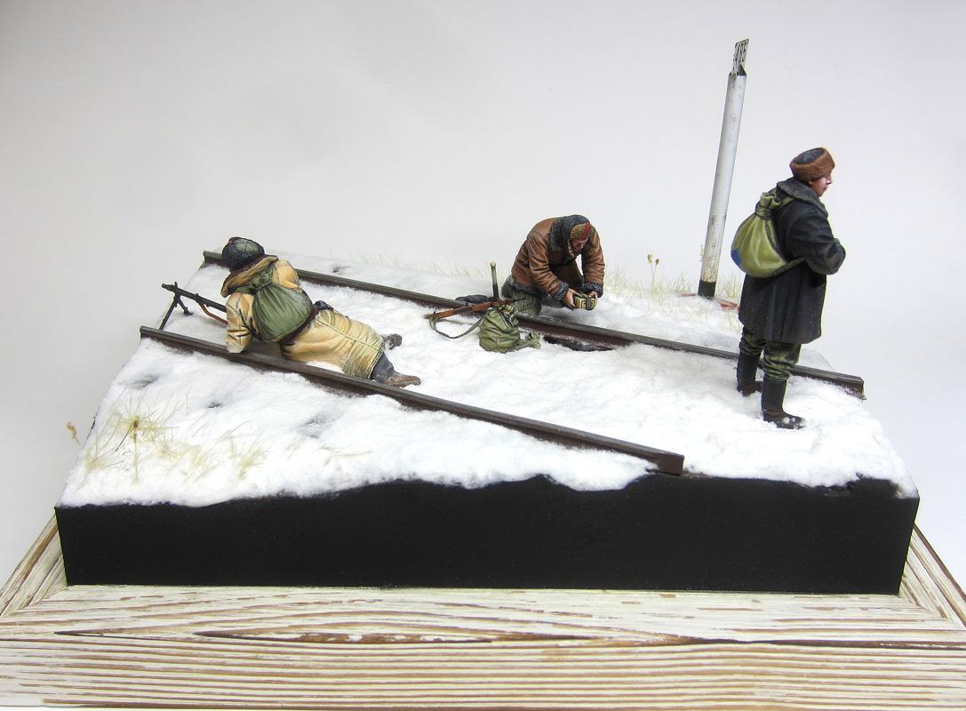 Dioramas and Vignettes: Partisan raid, photo #4