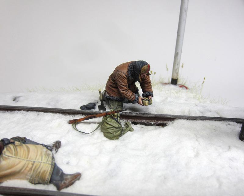 Dioramas and Vignettes: Partisan raid, photo #5