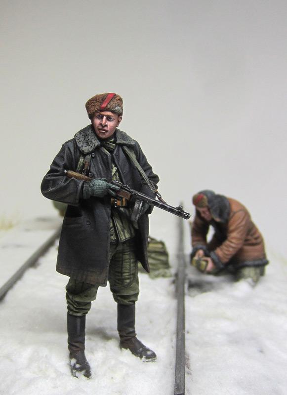 Dioramas and Vignettes: Partisan raid, photo #7