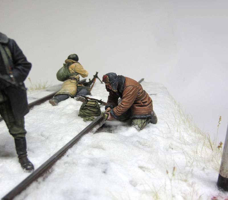Dioramas and Vignettes: Partisan raid, photo #8