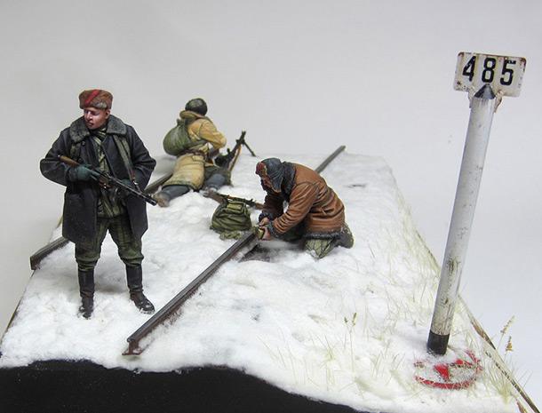 Dioramas and Vignettes: Partisan raid